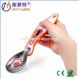 Pesaje electrónico de Digitaces de la capacidad de la cuchara dosificadora 500g de la escala del LCD