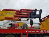 Clw 그룹 8X4 무거운 기중기를 가진 트럭 120 톤 기중기