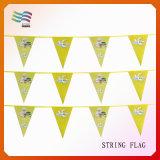 Bandiere decorative della bandierina della stringa della stamina del triangolo di natale