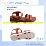 Pattino del sandalo di Slingback di modo, pattini elastici del sandalo delle donne