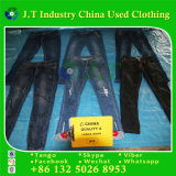 Verwendete kleidende Ballen-Dame-Jeans