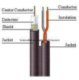Коаксиальный кабель Rg59 ETL Cm Cmr Cmx сиамский с проводами силы