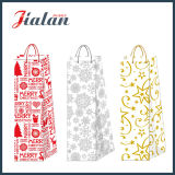 2016 New Design- Bouteille de vin de Noël Shopping Gift Paper Bag