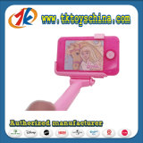 Téléphone mobile en plastique de mode avec le jouet de bâton de Selfie pour des gosses