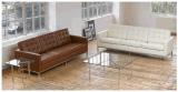 現代北欧様式のClassialの簡単なオフィスおよび居間の革ソファー