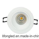 2.5inch cortou o diodo emissor de luz profundo Downlight da ESPIGA 9W de 90mm para a HOME do escritório da loja