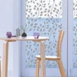 Поставщик пленки окна цветка стеклянный декоративный замороженный