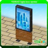 スクローリングライトボックスを広告する屋外の二重味方されたLED Lightbox Mupi