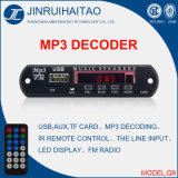 Placa do decodificador da C.C. 12V/5V MP3 do diodo emissor de luz de Digitas para FM Radio-Q9