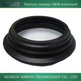 Componente della gomma di silicone del modanatura con colore nero