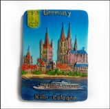 Магниты холодильника Rsein сувенира Германии сердца форменный туристские