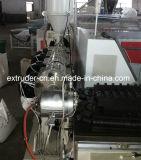 Tubo acanalado de un sólo recinto de la alta calidad PP/PE/PVC que hace la máquina