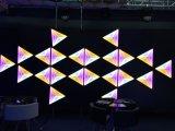 Innenwand/Decken-Effekt bunter RGB 3 in 1 3D Hintergrund-Dekoration des Effekt-LED