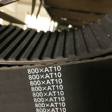 Correa síncrona para la transmisión T10*1450 1460 del automóvil y de la máquina 1480 1500