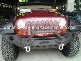 Peças de automóvel de venda quente para pára-choques dianteiro de aço Jeep Wrangler
