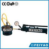 Pompe hydraulique manuelle d'alliage titanique en aluminium ultra à haute pression