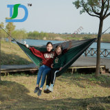 Hamac campant extérieur de parachute de jardin double