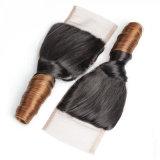 T1b/30緩い波のブラジルのOmbreの毛の閉鎖を着色しなさい