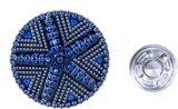 2017 neue Deisgn Jeans-Tasten mit Nietn in den Zink-Legierungs-Tasten für Jeans