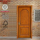 Porta de painel de madeira cinzelada mão do quarto americano do estilo (GSP2-055)