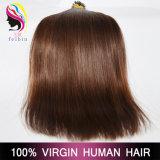 나가 사람의 모발 연장을 기울이는 30# 7A Virgin Remy 브라질 머리를 착색하십시오