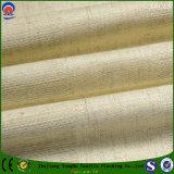 Tissu de toile de rideau en polyester ignifuge imperméable à l'eau d'arrêt total tissé par textile