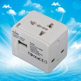 Adaptateur universel de convertisseur d'alimentation AC de course de qualité avec l'USB