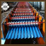 Rolo ondulado conduzido hidráulico máximo da folha 30m/Min que dá forma à máquina