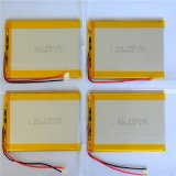 Батарея 4000mAh Li-Полимера лития полимера лития батареи 3.7V Lipo для наушника Smartwatch телефона вертолета