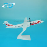 Ewa ATR72-500 27cm plástico ABS regalo promocional modelo de avión