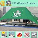 Grande barraca ao ar livre do evento da feira profissional da exposição do telhado