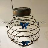 Lichten van de Lantaarn van het waterdichte Romantische Elastische LEIDENE de ZonneMetaal van de Glimworm Elastische Decoratieve Openlucht