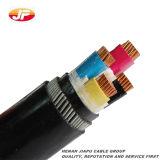 La base XLPE del Cu aisló el cable de transmisión forrado PVC