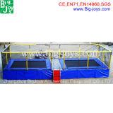 2-In1トランポリンのベッドの安い価格(BJ-BTR16)