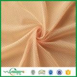 100% poliéster 3 * 1 malla tela para ropa deportiva forro de tela
