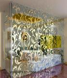 Farbe und Muster gedrucktes ausgeglichenes Glas