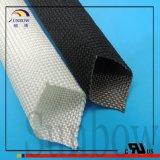 avec les chemises blanches normales d'isolation de fil tressé de fibre de verre de vente directe d'usine de 9001:2008 d'OIN pour les imprimantes 3D