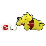 만화 곰 USB Pendrive 플래시 디스크 USB 기억 장치 지팡이