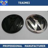 Emblema chapeado do logotipo do carro do emblema do decalque do ABS cromo feito sob encomenda para a VW