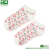 Носки лодыжки хлопка картины цветка симпатичные оптовые
