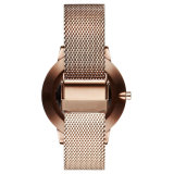 Fashion Trend Stainless Steel Elegent Ladies Quarts Montre bracelet