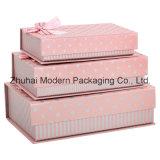 Коробка дешевого подарка рождества хорошего качества цены упаковывая