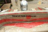 Hete Verkoop 7.3m Boot van de Motor van de Cabine van Persoon 10-12 de Halve Buitenboord