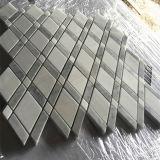 販売のためのインテリア・デザインの一等級の星そしてカラーラの白い大理石の石造りのモザイク価格