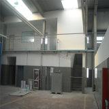 Здание выставочного зала автомобиля стальной рамки 2 этажей с офисом