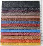 2017熱い販売の最上質の合成物質PU PVCハンドバッグの革(K205)