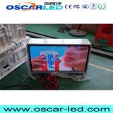 옥외 P2.5/P5 임대 광고 택시 영상 상자 스크린 택시 상단 또는 지붕 발광 다이오드 표시