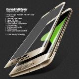 изогнутый 3D протектор экрана Tempered стекла вспомогательного оборудования мобильного телефона для края S6 плюс