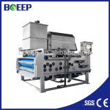 Equipo de la fábrica para la prensa de filtro del lodo de la correa de la venta para las aguas residuales municipales
