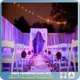 Conduzir e drapejar jogos para a decoração do casamento no país ocidental